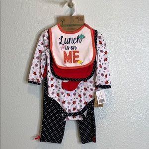 🦄3for20🦄 CHICK PEA Baby gift bibs onesie pants
